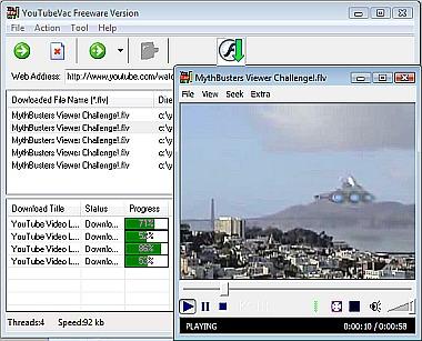 برنامج YouTubeVac برنامج تحميل الفيديو